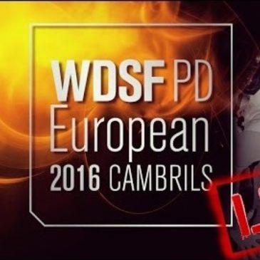 Видео с Чемпионата Европы WDSF PD 2016 по латине